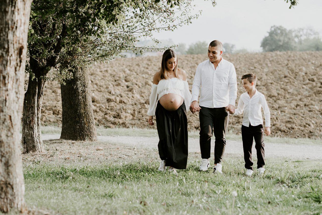 Ferdinando Dragonetti Italian wedding Photographer Modena foto di famiglia in dolce attesa